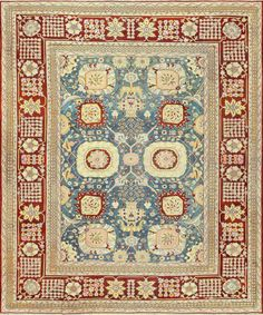 This is the #Antique #Indian Carpet from our previous photo...