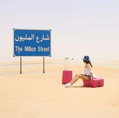 In the desert Travel Photography @chiclebelle