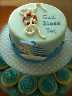 Nautical Christening...love it!