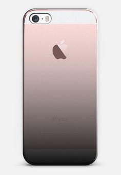 Black Ombre iPhone SE case by Jande Laulu | Casetify