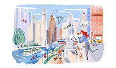 Eventbrite Chicago Illustrations on Behance