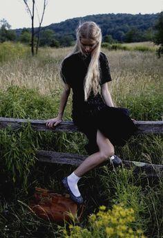 Jess Gold in DossierJournal F/W 2011 by Skye Parrott