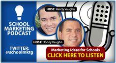 Private / Christian School Marketing Podcast - Marketing Twins - Randy Vaughn - Donny Vaughn -------- http://yourschoolmarketing.com/2012/podcast/podcast-what-should-schools-post-on-facebook/