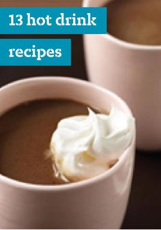 13 Hot Drink Recipes -- Our hot drink recipes bring the warm and cozy to any occasion, whether it's a morning cuppa for you or coffee for a crowd. You'll find all sorts of soothing beverages, including hot coffees, teas, and chocolates here.