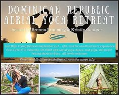 REPOST  @bcbaby8585  Aerial Yoga Retreat here at the Extreme Hotel with @extremecircuscabarete In Cabarete Dominican Republic! Hosted by @highflyingretreats and led by @bcbaby8585 and @kristinlco. 5 days all inclusive aerial yoga mat yoga and aerial dance. Email highflyingretreats@gmail.com for more info!     @godomrep #extremehotel #etxremehotelcabarete #ecohotel #activehotel #cabarete #kitebeach #kitebeachcabarete #lifestylebusiness #extremecircus #extremecircuscabarete #cabaretebeach… Aerial Dance, Aerial Yoga, All Inclusive, Yoga Retreat, Dominican Republic, Led, Lifestyle, Beach, Instagram