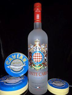 Monte Carlo Vodka made in France