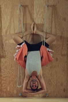 Yoga Kurunta is a series of Iyengar style asanas practiced with aid of ropes on…