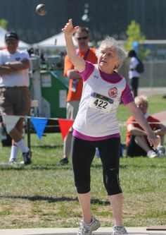 Daily #Inspiration: 95-Year-Old Track Star Could Set Record for World Records