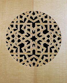 Lute rose pattern - Grant Tomlinson Lutemaker