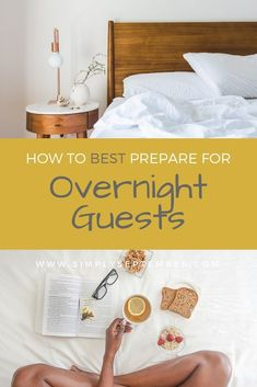 Preparing for Overnight Guests? Don't Forget These Simple Steps - Simply September Living Alone Tips, Portable Heater, Clean Space, Guest Room Decor, Cute Frames, Hygge Home, Host A Party, Life Organization, Activities For Kids
