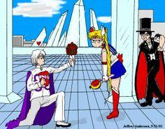 "Sailor Moon and Tuxedo Mask Coloring Pages | Hero VS Villain: Tuxedo Mask (Kamen) Vs Prince Demando (Diamond)"""