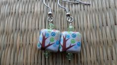Tree of peace earrings by valkirytails on Etsy, $10.00