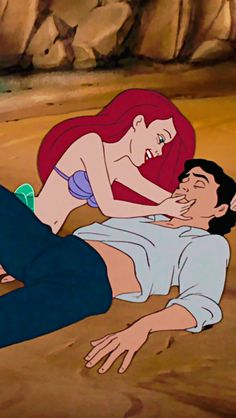 """""""Where would we walk, where would we run, if we could stay all day in the sun..."""" #TheLittleMermaid"""