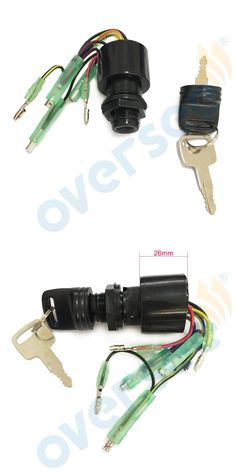 [Visit to Buy]  87-17009A5 Mercury Outboard Motors Boat Ignition Key Switch 3 Position Magneto Off-Run-Start Mercurial #Advertisement