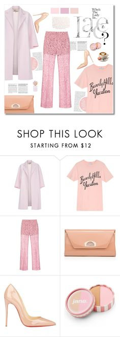 """the lace thing"" by limass ❤ liked on Polyvore featuring Paul Smith, Wildfox, Claudia Schiffer, Gucci, Christian Louboutin, jane, Marc Jacobs, women's clothing, women and female"