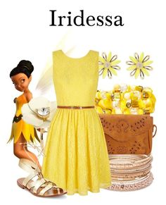 """""""Iridessa"""" by megan-vanwinkle ❤ liked on Polyvore featuring Red Camel, Kate Spade, Mixit and Yumi"""