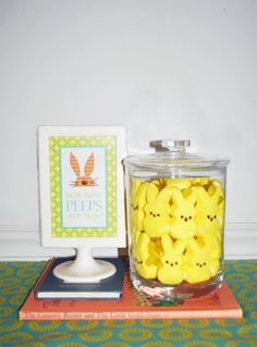 How many peeps....fun game to play at easter with the small kids!