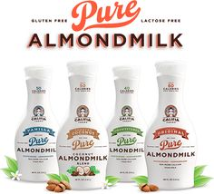 Dairy alternative: Califia Farms Vanilla Almond Milk & Toasted Coconut Almond Milk - The BEST flavor... Great alone, in smoothies, or iced coffee.