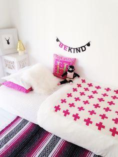Floor bed. #montessori