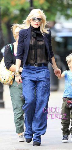 Vanderboss: Gwen Stefani and her beautiful Jackets. Get her look for less!