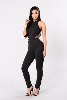 67ea2e85b8f Beautiful Romance Jumpsuit - Black. Fashion Nova ...