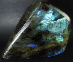 Large Natural Flashy Rainbow Labradorite Mineral Polished Display Crystal Stone Slab Rock Chakra Healing Gemstone by GemsDynasty on Etsy