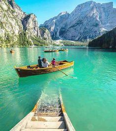 Braies Lake,Italy.