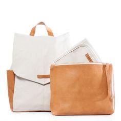 Julien Backpack in Natural by Leader Bag Co