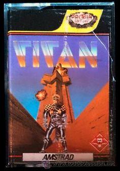 Juego Amstrad CPC Cinta - Titan (1989) Español