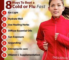 8 Ways To Beat A Cold Or Flu As Fast As Possible – Most People Only Do Two Of These | great tips!