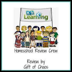 Review of K5 Learning Online Reading and Math program giftofchaos.com