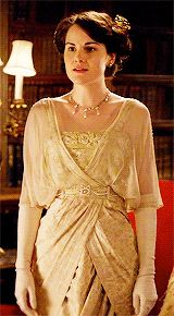 Looking quite contrary. Lady Mary Crawley
