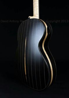 Another beautiful guitar made by David.