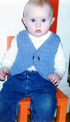 Bolero Baby Vest Knitting Pattern