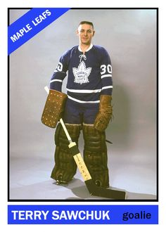 The Compleat Toronto Maple Leafs Hockey Card Compendium - Cards That Never Were Blog Pages Hockey Goalie, Hockey Players, Ice Hockey, Hockey Girls, Hockey Mom, Hockey Stuff, Hockey Hall Of Fame, Maple Leafs Hockey, Hockey Pictures