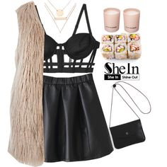 #SheIn by credentovideos on Polyvore featuring River Island, CHROMAT, Jules Smith and Prada