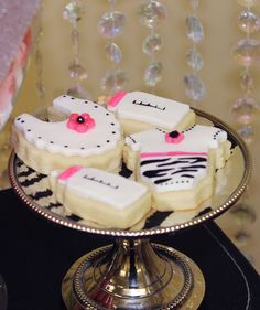 "Photo 1 of Pink/Zebra Theme / Baby Shower/Sip & See ""Zebra Theme Baby Shower "" Baby Shower Games, Baby Shower Parties, Shower Party, Zebra Baby Showers, Baby Shower Cookies, Baby Cookies, Zebra Party, Bottle Cake, Cute Cookies"