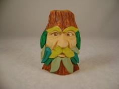 Wood carvingwood spiritElfWizardgiftcarved by by carvingsbysean, $15.00
