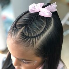 easy hairstyles for black women Eye Makeup Baby Girl Hairstyles, Kids Braided Hairstyles, Baddie Hairstyles, Older Women Hairstyles, Cool Hairstyles, Teenage Hairstyles, Hairstyles 2016, Baby Hair Cut Style, Braid Styles For Girls