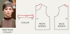 The Cutting Class   High Rounded Necklines and Collar Variations