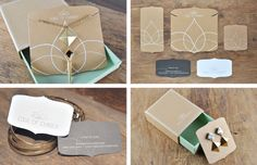 Brand identity, business cards and packaging for jewelry brand Edge of Ember | www.keyandquoin.com