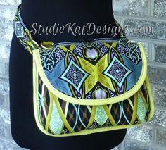 The HipBag Hybrid - Sewing Pattern from StudioKat Designs