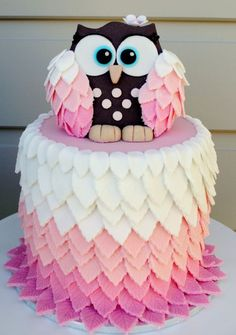 An Adorable Owl Cake O M G