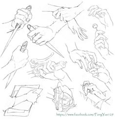 Hand reference - more too practice Hand Drawing Reference, Anatomy Reference, Art Reference Poses, Body Drawing, Anatomy Drawing, Manga Drawing, Figure Drawing, Drawing Hair, Gesture Drawing