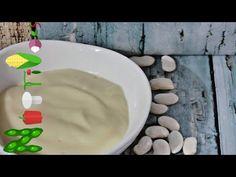 Φυτική μαγιονέζα ολόιδια με τη κοινή!! Vegan mayo - YouTube Icing, Pudding, Vegan, Youtube, Desserts, Food, Deserts, Custard Pudding, Puddings