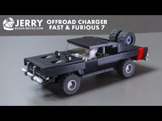 A step by step tutorial on how to build the Offroad Charger from Fast & Furious 7 with LEGO. Lego Cars Instructions, Lego Truck, Lego Sculptures, Lego Christmas, Lego Speed Champions, Lego Craft, Lego Military, Lego Construction, Cool Lego Creations