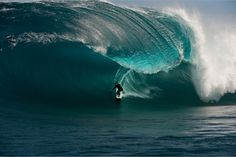 Unknown big thick wave. If Teahupoo in Tahiti had a right wave, it would look like this.