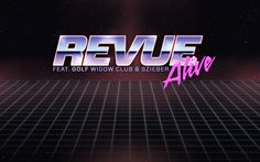 Revue - Alive by Daniel Sivo, via Behance