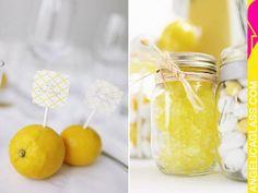 Lemons / Wedding Style Inspiration / LANE
