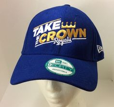 1dcc88fc0db Kansas City Royals Baseball Cap World Series Take The Crown 9 Forty New Era  Blue